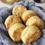 Fluffy Vegan Biscuits for Thanksgiving