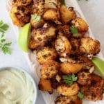Crispy Air Fryer Cauliflower Wings Recipe