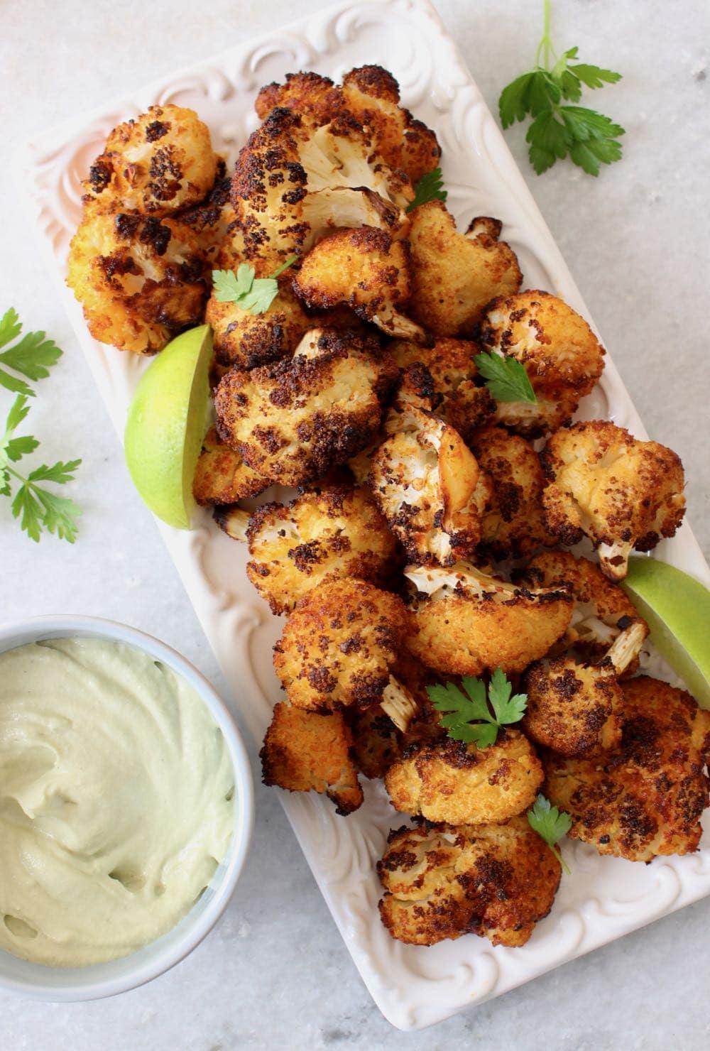 Crispy Air Fryer Cauliflower Wings Recipe