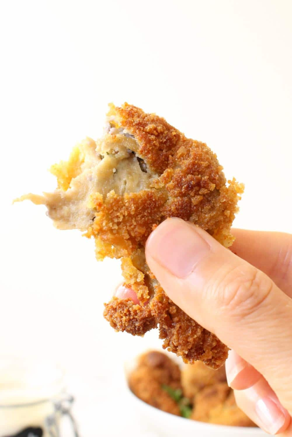 crispy vegan chicken tenders