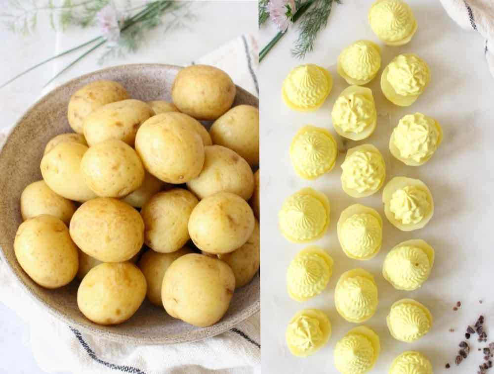 how to make deviled potatoes